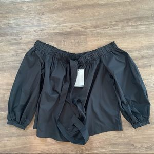 WHO WHAT WEAR   TOP SIZE X BLACK
